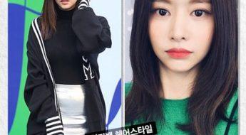 korean kdrama actress han bo reum choppy bangs hairstyles for girls