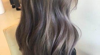 Lavender Ash Brown-trendinghaircolor-kpophairstyle-kpophair-koreanhairdye-hairdye-dyetrend