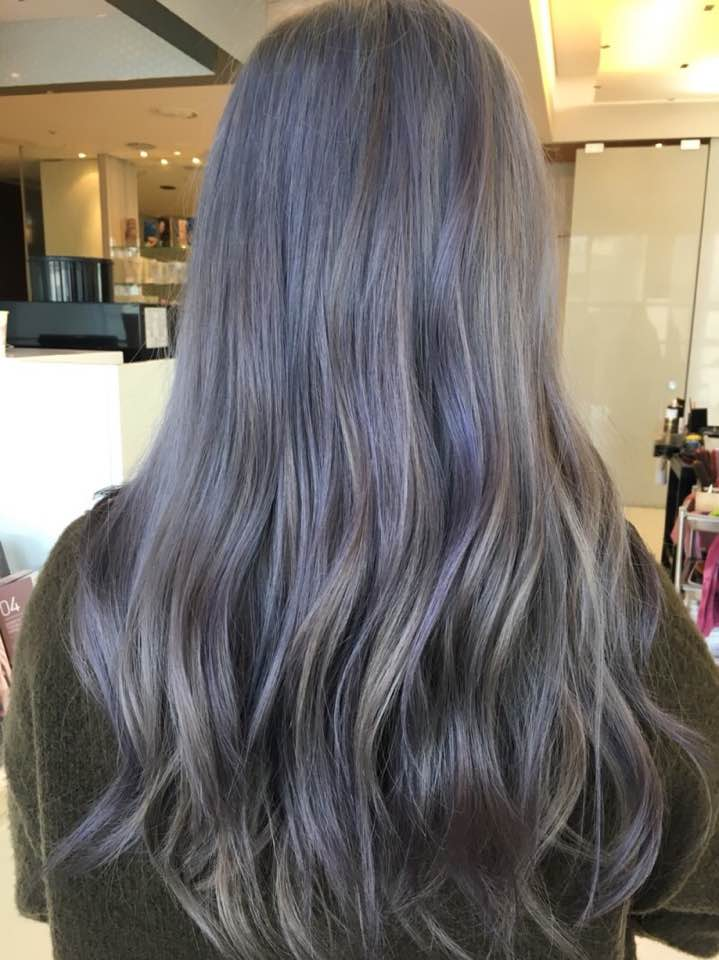 Light Ash Brown Hair Balayage Ombre