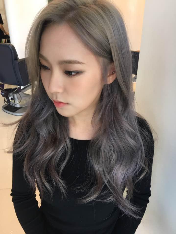 Lavender Ash Brown Hair Dye Color 2017 Fall Winter Trending