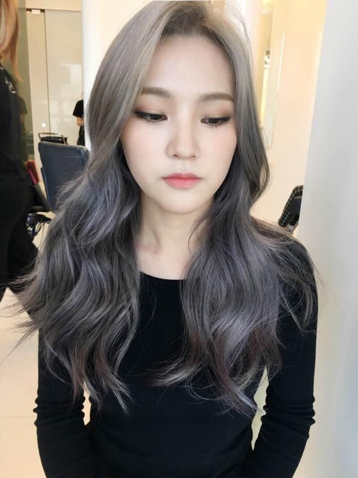 Lavender Ash Brown Hair Dye Color 2017 Trending Popular Hair Color