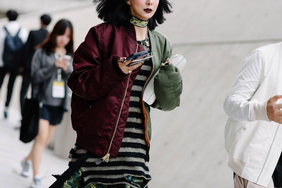 kpop idol korean model fall seoul fashion week styles for girls unique look kpopstuff