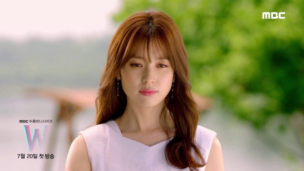 korean kdrama actress w two worlds see through bangs for kpop idol korean women asian kpopstuff