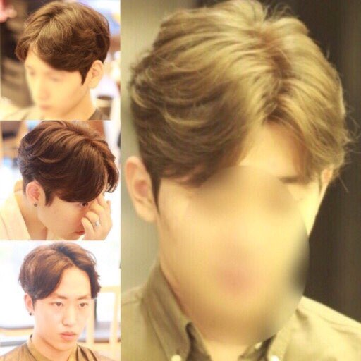 Galerry hairstyle mens korean