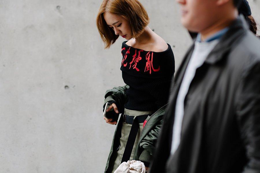 kpop idol korean models seoul fashion week street style casual for girls women kpopstuff