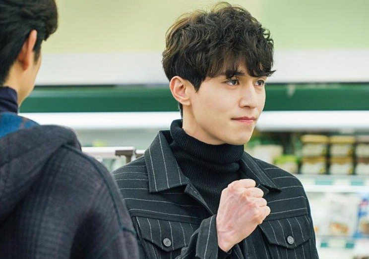 korean drama kdrama goblic actor lee dong wook's goblin hairstyle grim reaper role wavy permed hair hairstyles for guys kpopstuff men