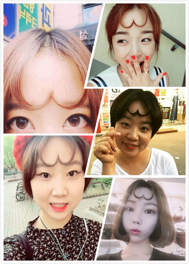 kpop korean girl groups idol heart shaped bangs styling hairstyles for girls kpopstuff