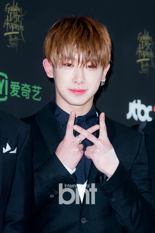 Kpop Idol Boy Group Monsta X Shownu Korean Guy Hairstyles