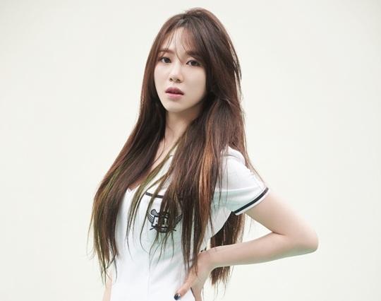 kpop idol girl group aoa AOA mina straight long hair hairstyles for girls kpopstuff