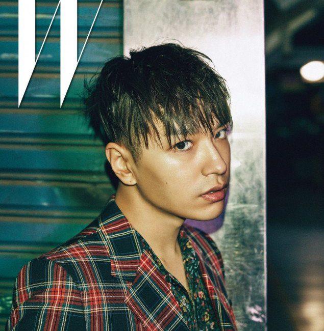 Korean rapper smtm5 simon dominic two block haircut wet hairstyle haircut for guys kpopstuff