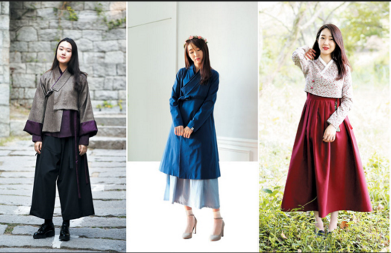 "2017 Korean Fashion Trend-The ""Daily,"" or Modern Hanbok ..."