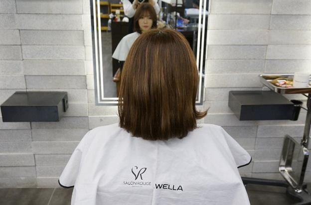 Korea Korean Girls Women Hot Style Short Hair C Curls See Through