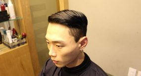 korea korean kpop idols actors celebrities trends trend trending clean cut pomade haircut easy hairstyles for guys kpopstuff the finished look