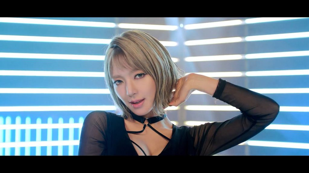 korea korean kpop idol girl group band aoa choa's new lob hair hairstyles for girls kpopstuff bing bing