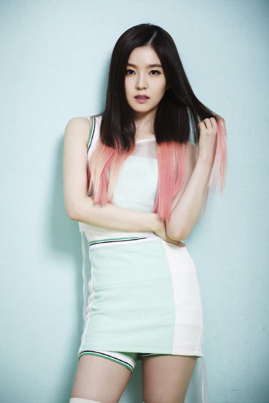 korea korean kpop idol girl group band red velvet irene's two-tone hair happiness pink hair color hairstyles for girls kpopstuff
