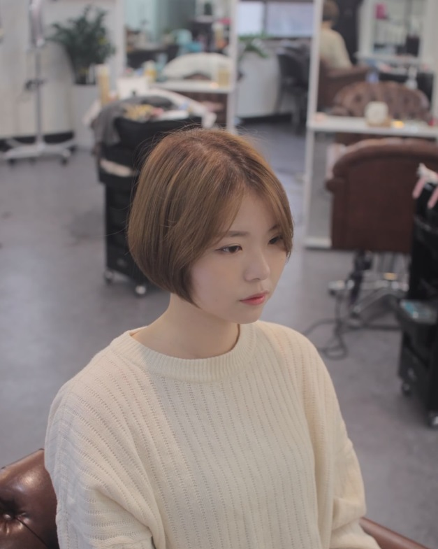 korea korean kpop idols kdrama actresses trending haircut voluminous short bob hairstyles for girls kpopstuff middle part profile