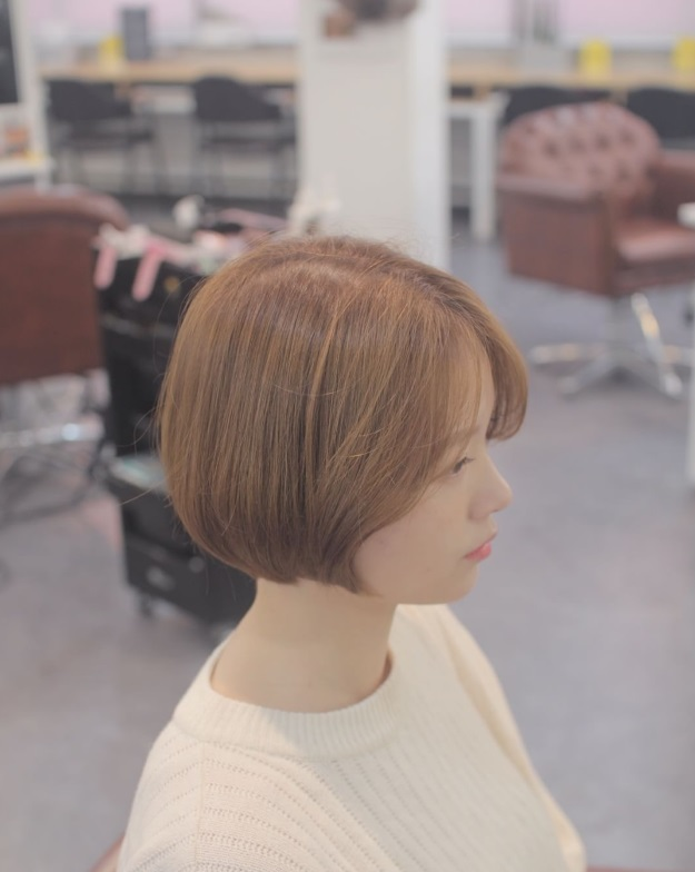 korea korean kpop idols kdrama actress trending haircut voluminous short bob hairstyles for girls kpopstuff left profile
