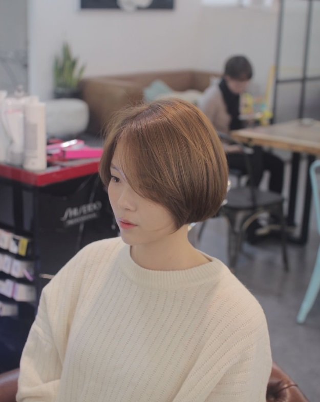 korea korean kdrama actress kpop idol trending haircut voluminous short bob hairstyles for girls kpopstuff side part profile