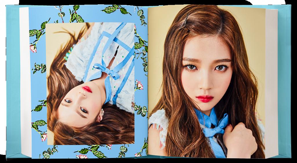 korea korean kpop idol girl group band red velvet's hairstyles rookie hair joy's wavy hairstyles for girls kpopstuff