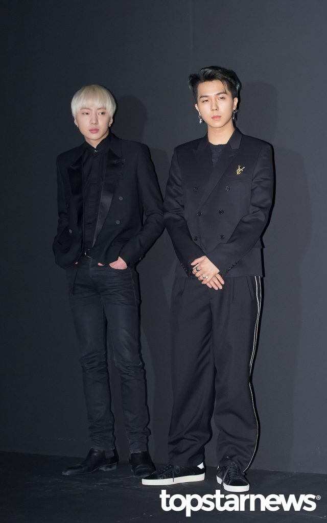 Winner 39 S Mino And Seungyoon At Saint Laurent By Anthony