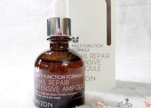 Mizon Snail Repair Intensive Ampoule Review
