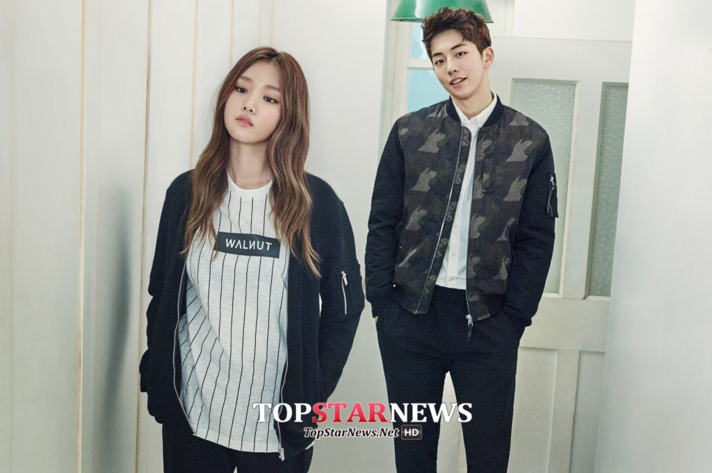 korea korean drama kdrama weightlifting fairy lee sung kyung & nam joo hyuk's couple looks casual street fashion outfits girls guys kpopstuff