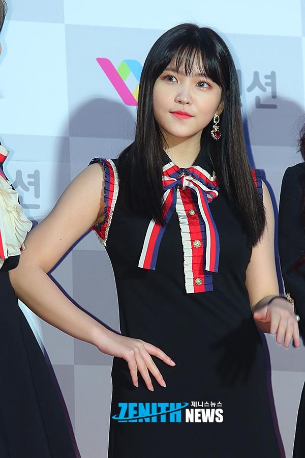 korea korean kpop idol girl band group red velvet yeri's see through bangs straight rookie hair bangs bang styles hairstyles for girls kpopstuff
