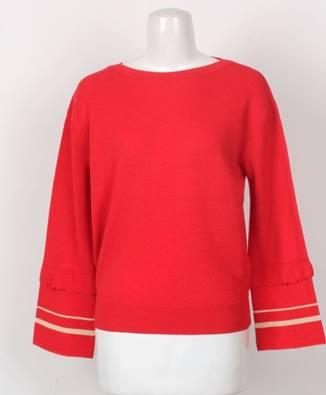 korea korean kpop idol girl group band red velvet joy's outfit looks liar and his lover kdrama actress red long sleeve ep 4 style fashion outfit girls kpopstuff