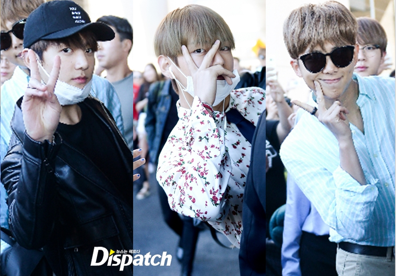 BTS BBMA Airport Fashion